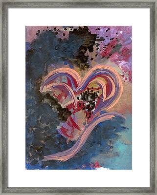 Broken Hearted Framed Print by Helene Henderson