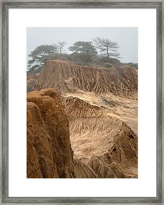 Broken Hill Framed Print by Joseph Smith