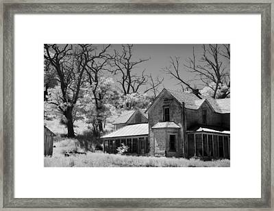 Broken Home Framed Print