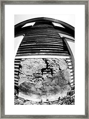 Broken Home Framed Print by Tom Melo