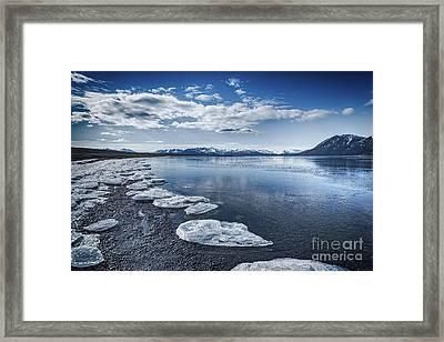 Broken Ice Framed Print by Svetlana Sewell