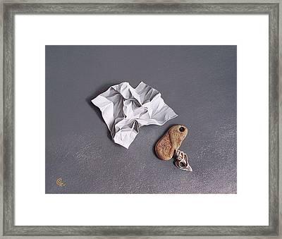 Broken Promise - 1 Framed Print by Elena Kolotusha