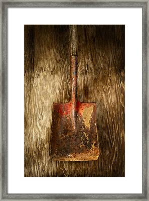 Tools On Wood 2 Framed Print by YoPedro