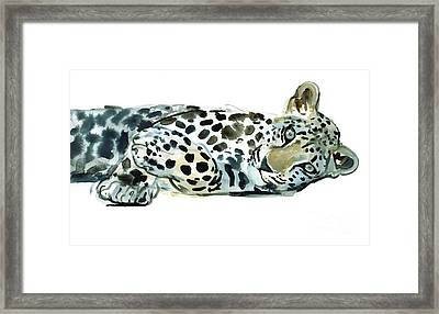 Broken Siesta Framed Print by Mark Adlington