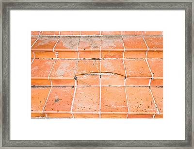 Broken Steps Framed Print
