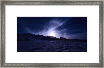 Broken Framed Print by Tor-Ivar Naess