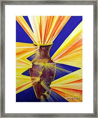Broken Vessel Framed Print