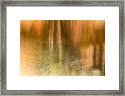 Framed Print featuring the photograph Broken Water by Deborah Hughes