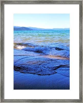 Broken Waves Framed Print