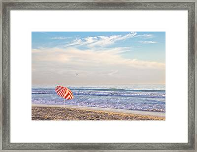 Brolly Framed Print