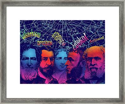 Bromides I Framed Print by Eric Edelman