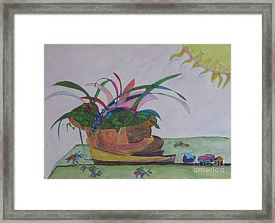Bromiliad Framed Print by James SheppardIII