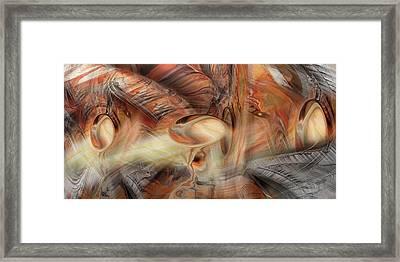 Bromine Framed Print