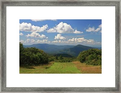 Bromley Mountain Vermont Appalachian Trail Framed Print by John Burk