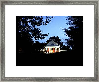 Brompton At Dusk Framed Print by Sue Henderson