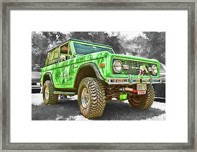 Bronco 1 Framed Print