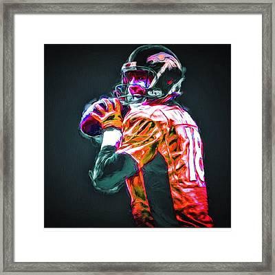 @broncos #broncos @denver #denver Framed Print