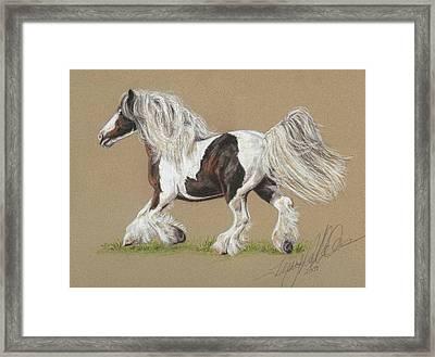 Bronwyn Framed Print by Terry Kirkland Cook