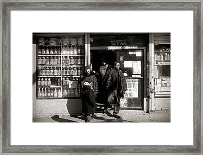 Bronx Scene Framed Print by RicardMN Photography