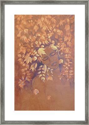 Bronze Beauty Framed Print
