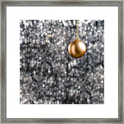 Framed Print featuring the photograph Bronze Christmas  by Ulrich Schade