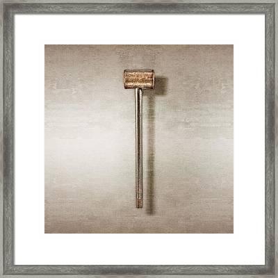 Bronze Hammer Framed Print