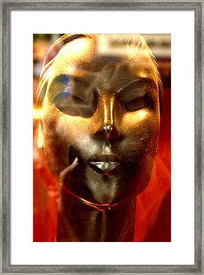 Bronzed 3 Framed Print by Jez C Self