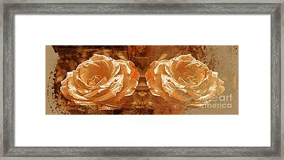 Bronzed Framed Print by Clare Bevan