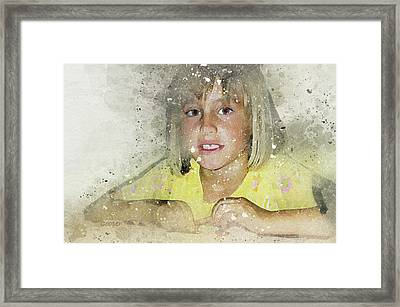 Brooke Framed Print