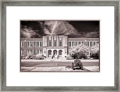 Brookland - Cayce H S Framed Print