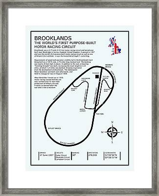 Brooklands Framed Print