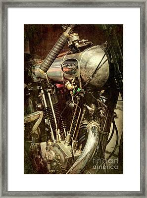 Brooklands Racer Framed Print