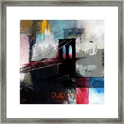Brooklyn 199 2  Framed Print