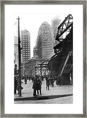 Brooklyn Borough Hall Framed Print