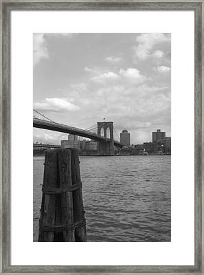 Brooklyn Bridge  Framed Print