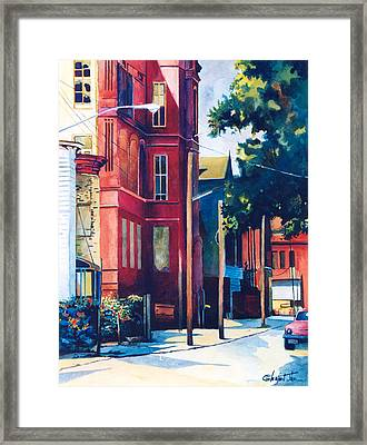 Brooklyn Framed Print