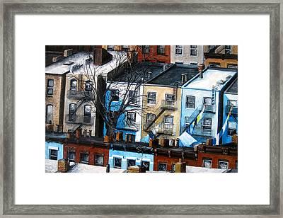 Brooklyn Rooftops Framed Print