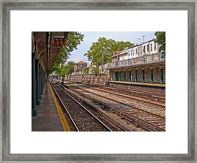 Brooklyn Subway Framed Print
