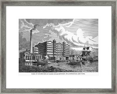 Brooklyn: Sugar Refinery Framed Print by Granger