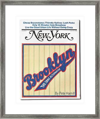 Brooklyn The Sane Alternative Framed Print