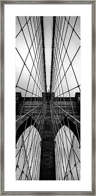 Brooklyn's Web Framed Print by Az Jackson