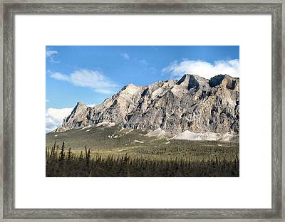 Framed Print featuring the photograph Brooks Range Mountain by Adam Owen