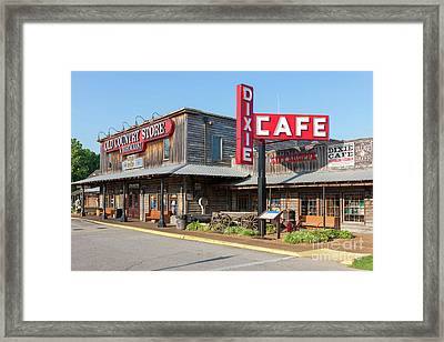 Brooks Shaw's Old Country Store I Framed Print by Clarence Holmes