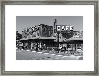 Brooks Shaw's Old Country Store II Framed Print by Clarence Holmes