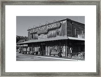 Brooks Shaw's Old Country Store Iv Framed Print by Clarence Holmes