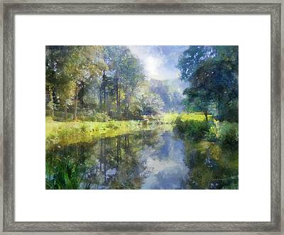 Brookside Framed Print by Francesa Miller