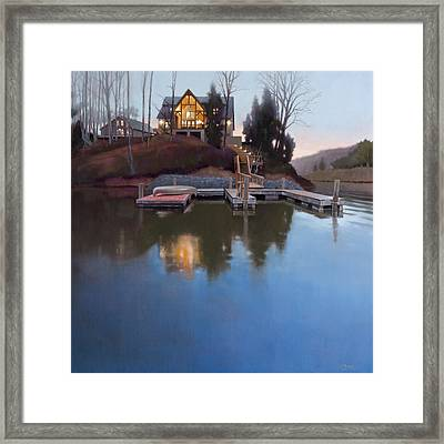 Brookview Framed Print by Todd Baxter