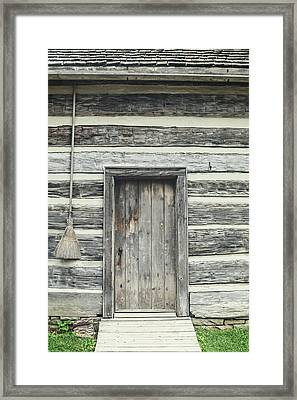 Broom Framed Print