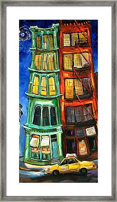 Broome Street Framed Print by Carole Foret