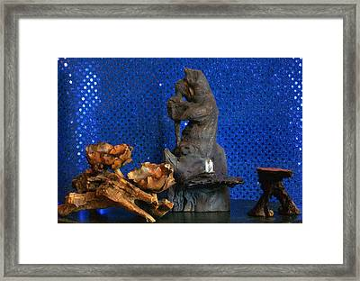 Framed Print featuring the photograph Brother Bear by Carolyn Cable